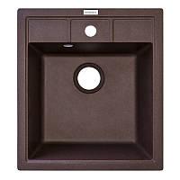 Кухонная мойка гранитная Adamant BRICK 460х515х204 05 коричневый, фото 1
