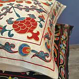 Наволочка сюзане шелк ручная вышивка. Узбекистан (2), фото 2