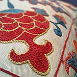 Наволочка сюзане шелк ручная вышивка. Узбекистан (2), фото 3