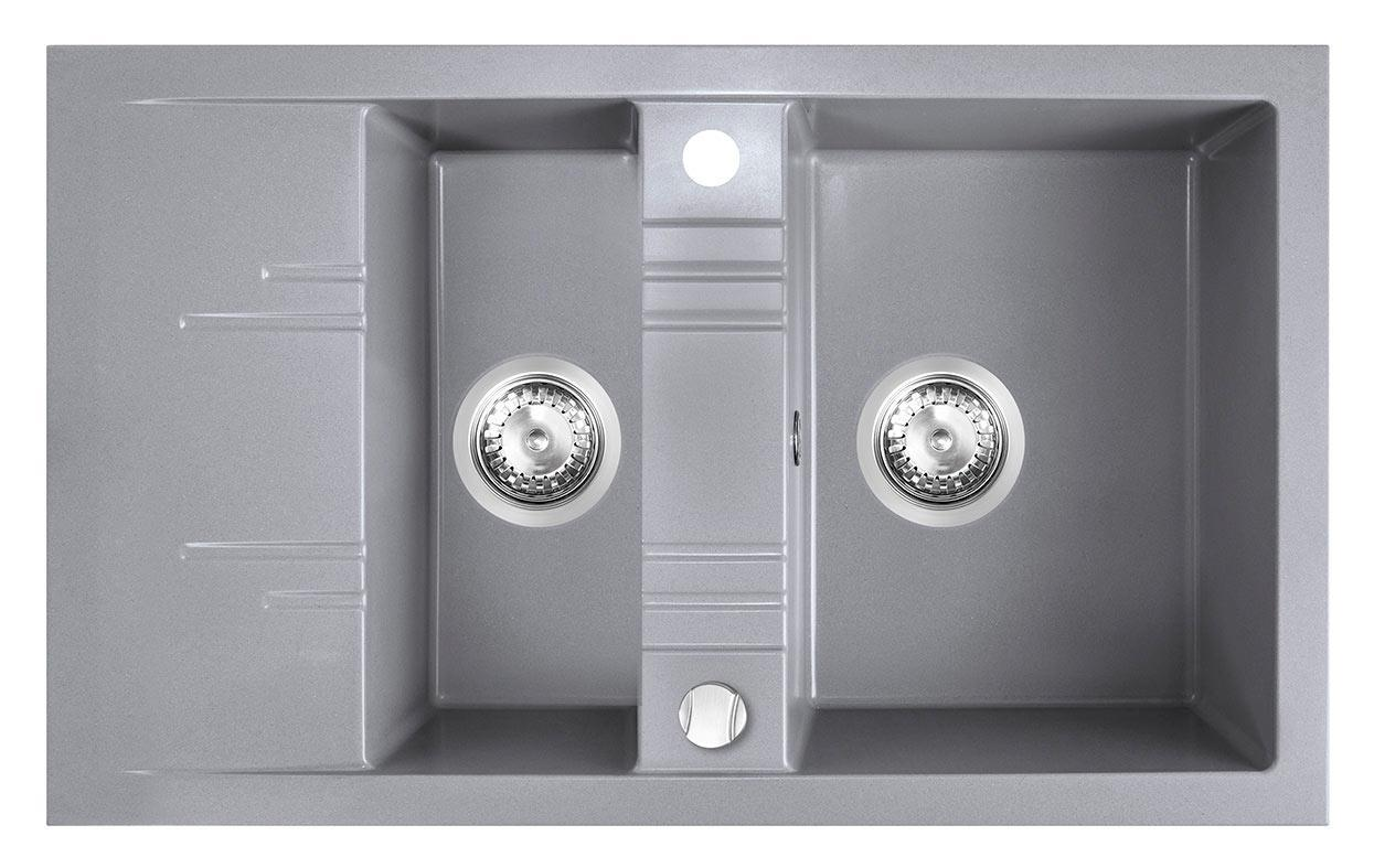 Кухонная мойка Ferro MEZZO II DRGM3/48/79GA