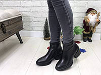Ботинки зимние кожаные женские, фото 1