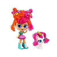 Игровой набор с куклой и питомцем Curligirls - Именинница Мэй Ли и Лулу, фото 1