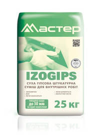 Штукатурка Мастер Izogips (Изогипс) 25 кг