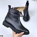 Ботинки женские натур кожа Деми 718, фото 3
