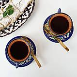 Кофейная чашка с блюдцем 100 мл ручной работы из Узбекистана (3), фото 2