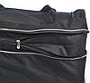 Сумка дорожная на колёсах KAIMAN 60 см черная, фото 4