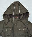 Зимняя куртка для девочки коричневая (р. 116-140 см) (QuadriFoglio, Польша), фото 5