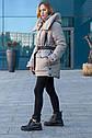Супер модная зимняя куртка оверсайз Магда размеры 46- 56 Топ продаж!, фото 3