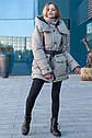 Супер модная зимняя куртка оверсайз Магда размеры 46- 56 Топ продаж!, фото 4