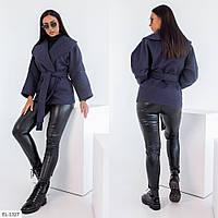 """Пальто жіноче мод: 248 (48-50, 52-54, 56-58) """"BELUZA"""" недорого від прямого постачальника"""