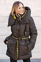 Супер модная зимняя куртка оверсайз Магда размеры 46- 56 Топ продаж!