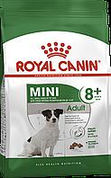 Сухой корм ROYAL CANIN MINI ADULT 8+ для собак мелких пород фасовка 800 г
