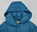 Зимняя куртка для девочки MILLA бирюзовая (р. 116-146 см)(QuadriFoglio, Польша), фото 2