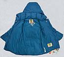 Зимняя куртка для девочки MILLA бирюзовая (р. 116-146 см)(QuadriFoglio, Польша), фото 6