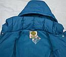 Зимняя куртка для девочки MILLA бирюзовая (р. 116-146 см)(QuadriFoglio, Польша), фото 7