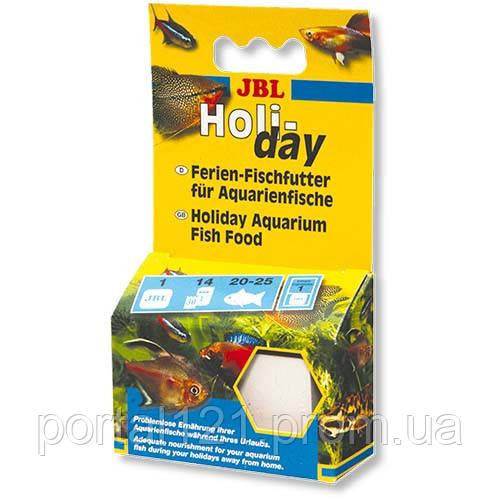 Корм JBL Holiday на час відпустки для будь-яких акваріумних риб, 43 р