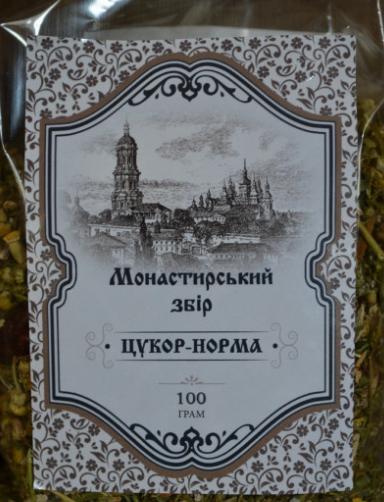 Монастырский сбор Сахар норма 100 г ( Натуралис )
