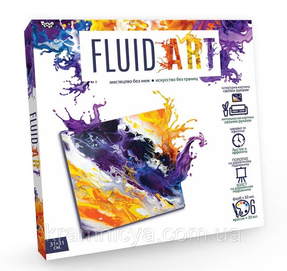 Набор для творчества Fluid Art, Danko Toys (FA-01-01)