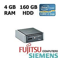 Fujitsu-Siemens Q5020 MT / Intel Core 2 Duo T5670 (2 ядра по 1.8 GHz) / 4 GB DDR2 / 160 GB HDD
