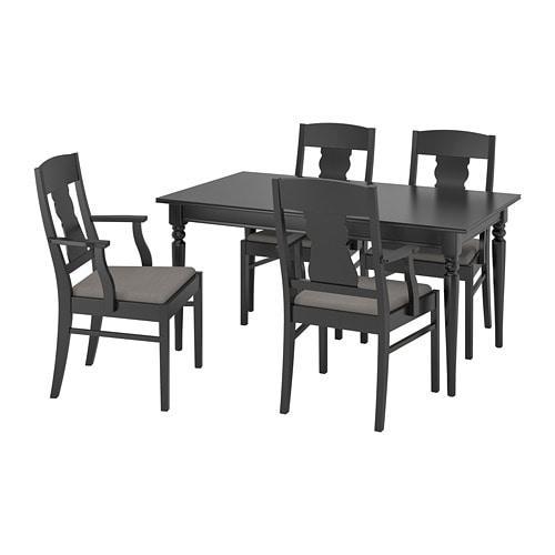 INGATORP / INGATORP, Стол и 4 стула - ТОП ПРОДАЖ