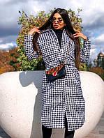 Стильное женское пальто, стеганое, 913-126-4