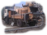Аренда бетононасоса с производственной мощностью 50-70 м3/час.