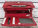 Кошелек женский KARYA 17241 кожаный Красный, фото 6