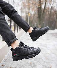 Мужские ботинки Рэй Pobedov (черные), фото 3