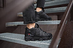 Мужские ботинки Рэй Pobedov (черные), фото 2