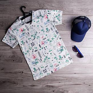 Мужская футболка More Pobedov (белая), фото 2