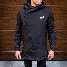 Мужская куртка Darkness Pobedov (черная), фото 3