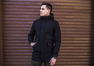 Мужская куртка Japan Pobedov (черная), фото 3