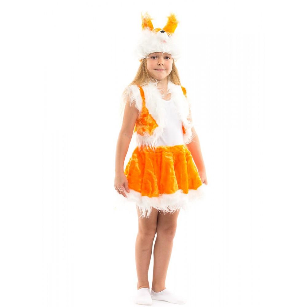 Детский карнавальный костюм Белочки для девочки
