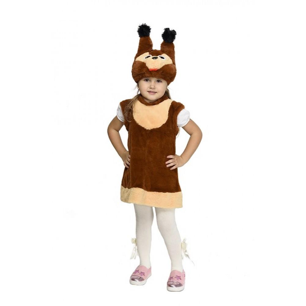 Карнавальный костюм Белочки для девочки