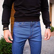 Чоловічі джинси Poleteli Pobedov (ясно-сині), фото 3