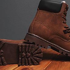 Мужские ботинки Тимб Сноу Pobedov (коричневые), фото 3