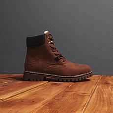 Мужские ботинки Тимб Сноу Pobedov (коричневые), фото 2