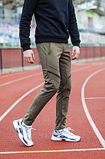 Мужские зимние штаны Soft Shell 'San Andreas' Pobedov (хаки с черным), фото 3