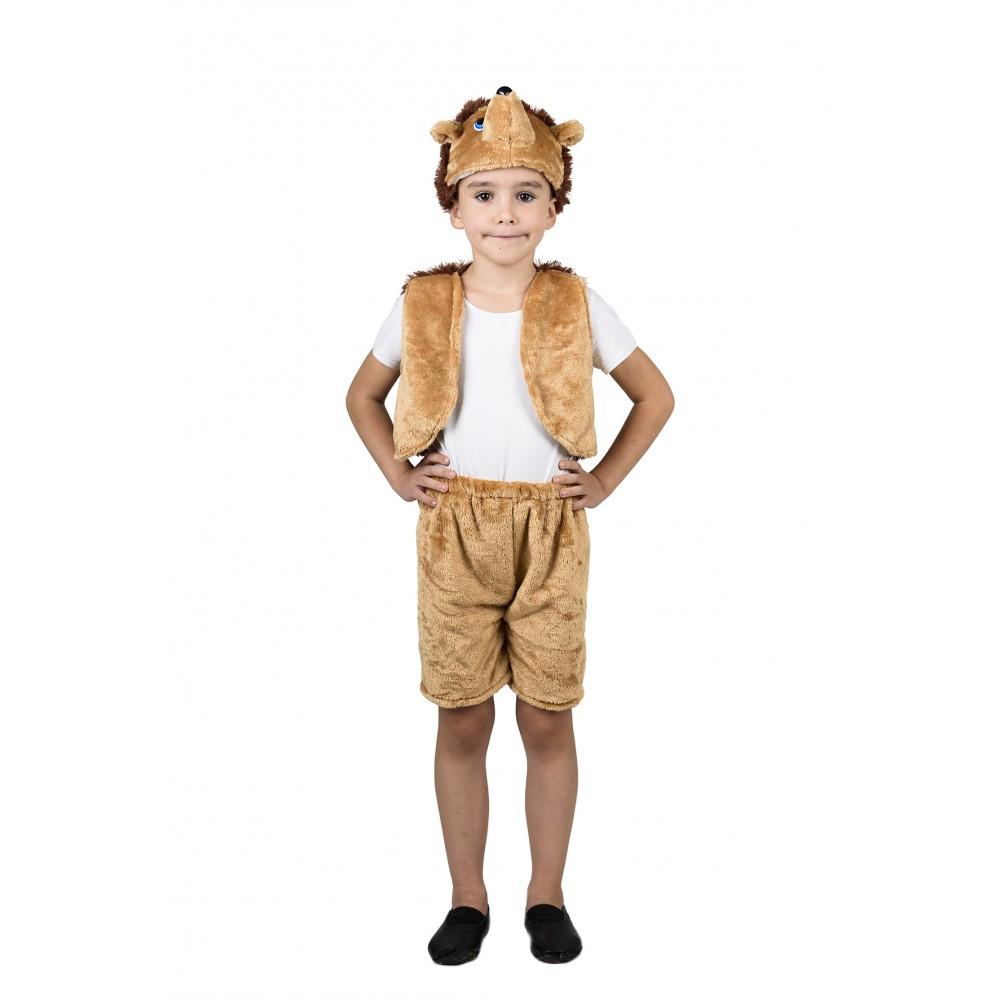 Детский новогодний костюм Ежика для мальчика