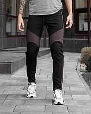 Зимние мужские штаны 'Vice City' Pobedov (серые с черным), фото 2