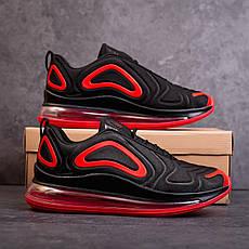 Мужские кроссовки Ривал Арт 720(черно-красные) Pobedov, фото 2