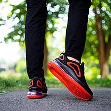 Мужские кроссовки Ривал Арт 720(черно-красные) Pobedov, фото 3