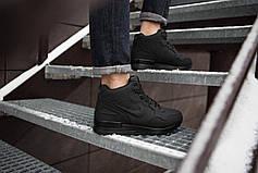 Мужские ботинки Мид Хай Pobedov (черные), фото 3