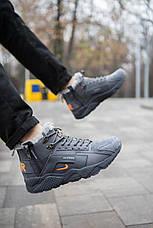 Мужские ботинки Хуарейч Акроним Pobedov (серые), фото 3