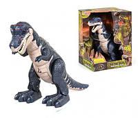 """Интерактивный динозавр """"Cretaceous"""" (тёмно-синий), WEN SHENG, интерактивная игрушка,детские игрушки,подарки"""