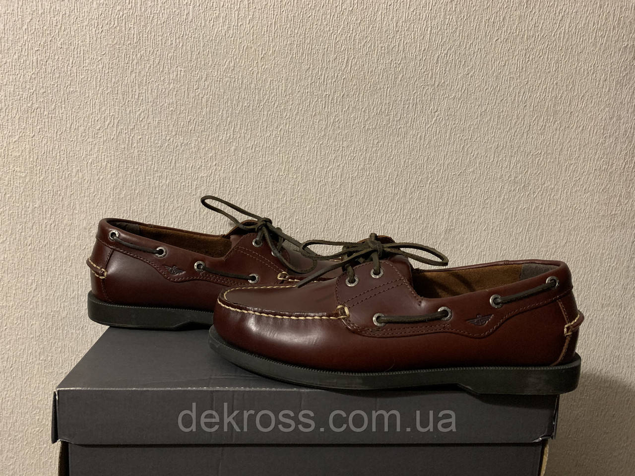Топсайдеры \ лофери Dockers Castaway Boat Shoes Raisin (42) Оригінал 90-1449