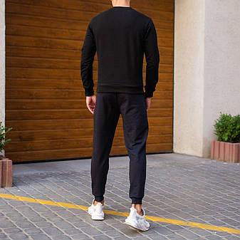 Мужской зимний спортивный костюм 99 Pobedov (черный с темно-синим), фото 2