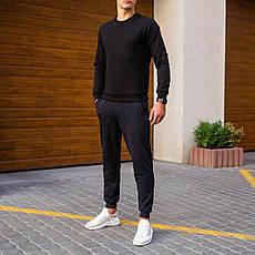 Мужской зимний спортивный костюм 99 Pobedov (черный с темно-синим), фото 3