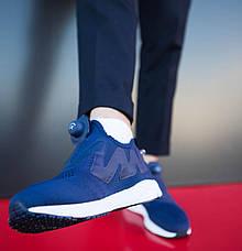 Чоловічі кросівки Ветементс Pobedov (сині), фото 3