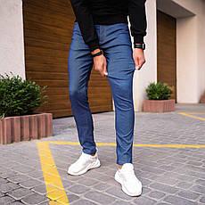 Мужские джинсы Poleteli Pobedov (темно-синие), фото 3